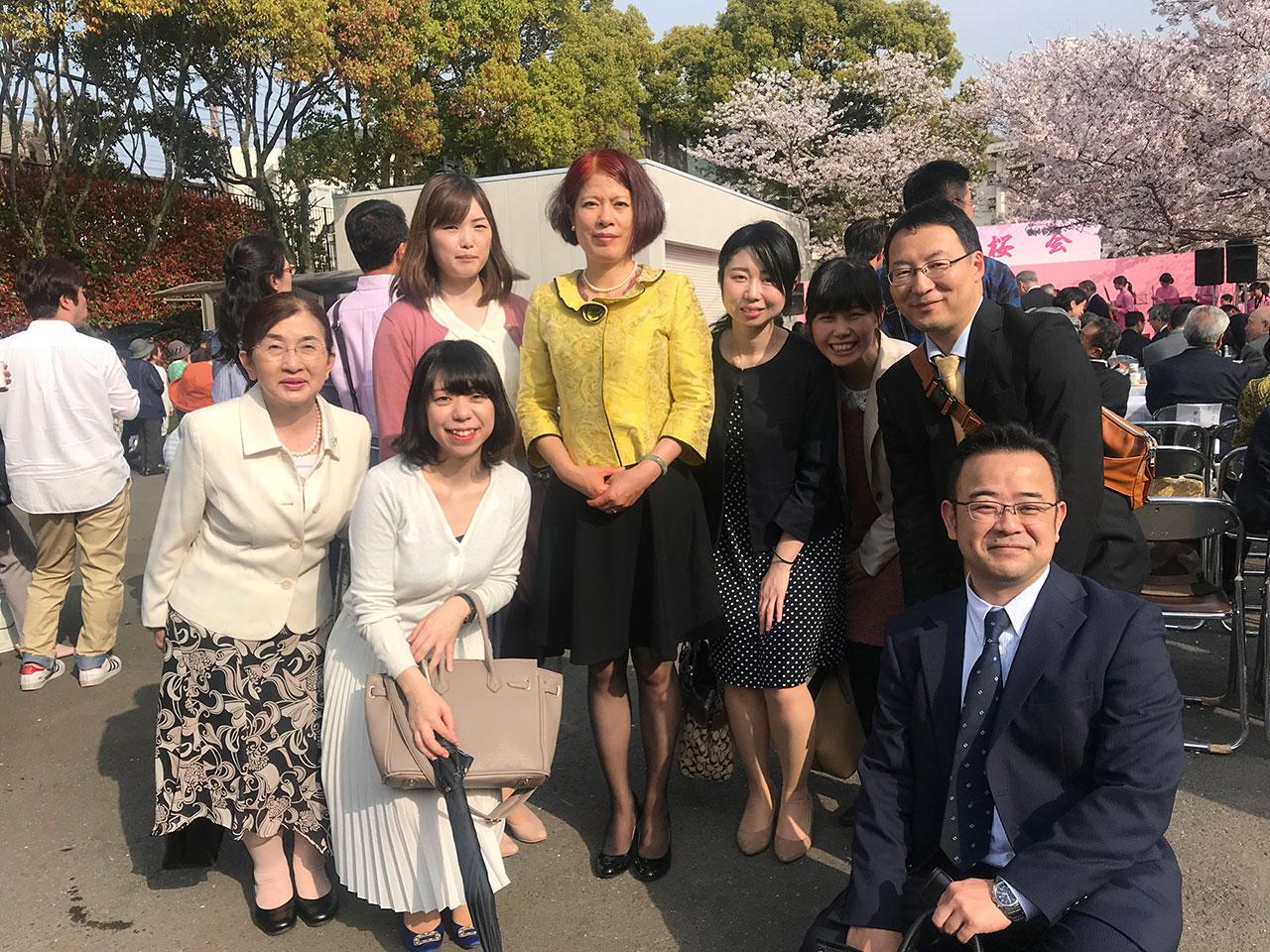 長崎創価学会 観桜会