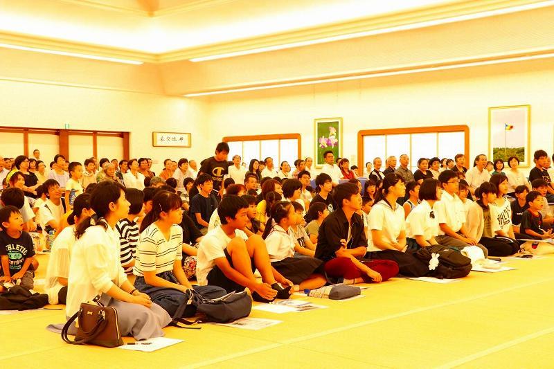 長崎創価学会 創価ファミリー大会参加者