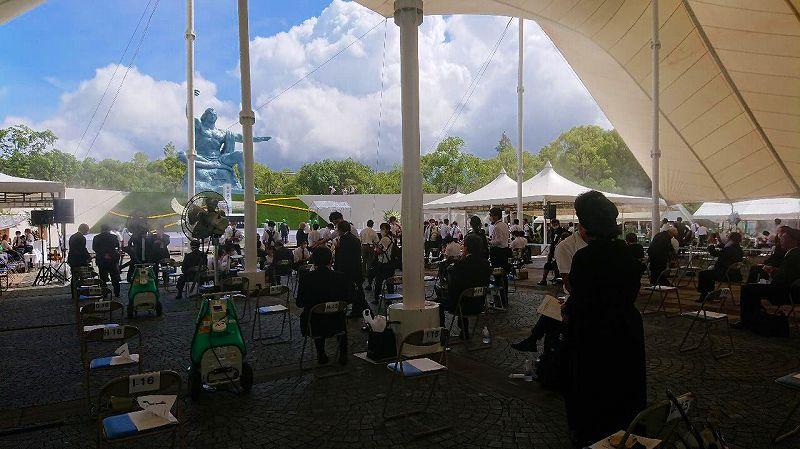 長崎創価学会 平和記念式典1